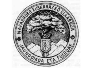 Logo de la Asociación Euskara de Navarra, fundada en 1887