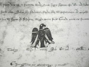 El Arrano Beltza o Águila Negra, sello de Sancho VII
